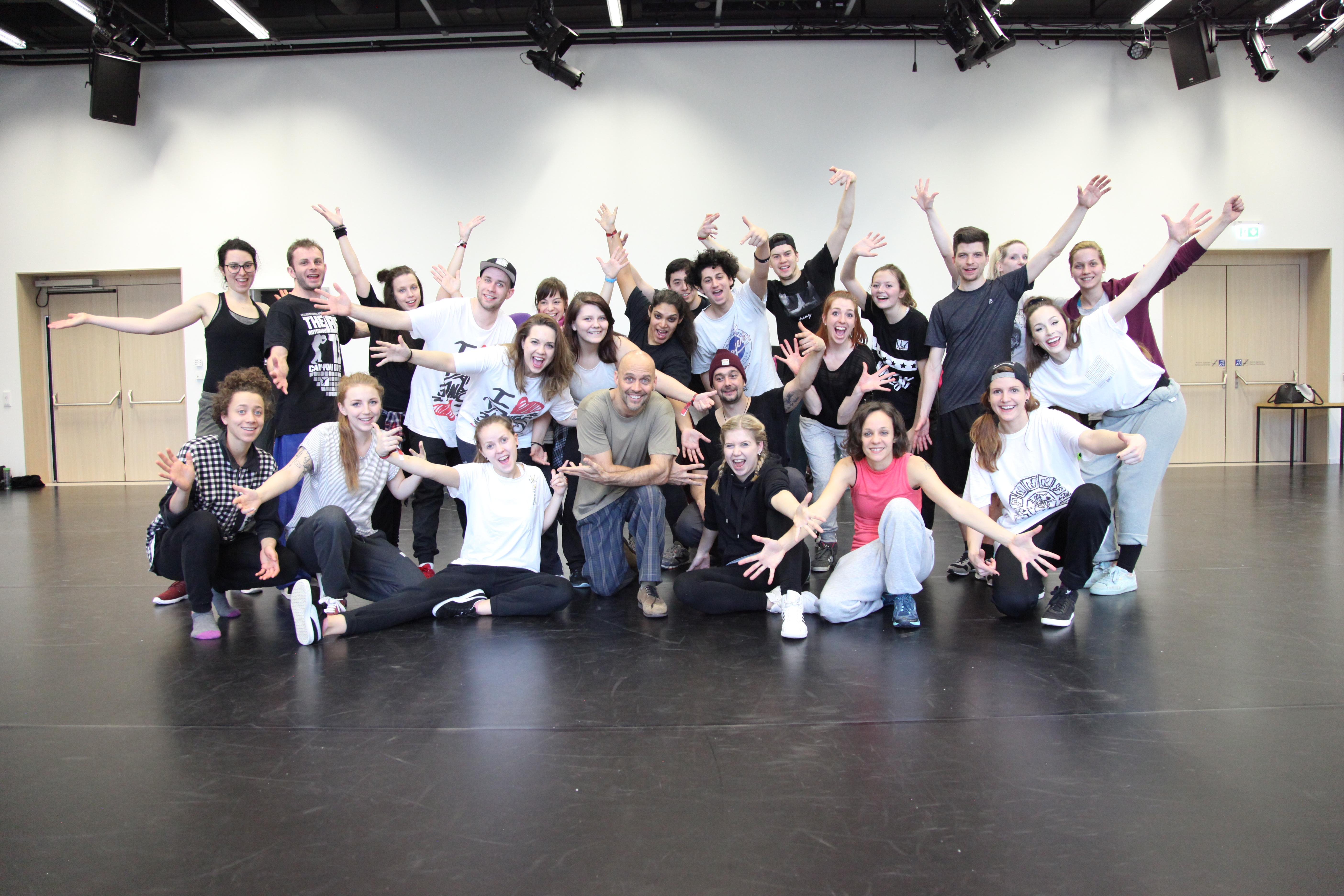 Lehrgang für Urban Dance Styles